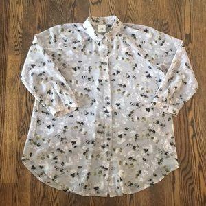 CAbi Matinee sheer blouse